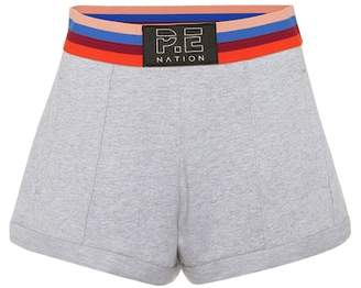 P.E Nation Starting Whistle cotton shorts