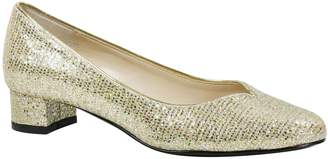 J. Renee Low Heel Glitter Pumps - Bambalina