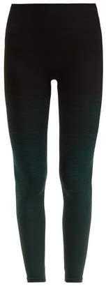 Pepper & Mayne - Goddess Ombre Compression Leggings - Womens - Dark Green