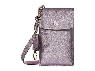 Kate Spade Glitter NS Flap Phone Crossbody