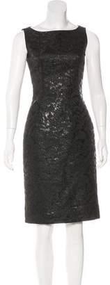 Dolce & Gabbana Sleeveless Brocade Dress