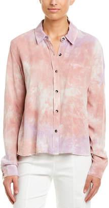 Splendid Tie-Dye Woven Shirt