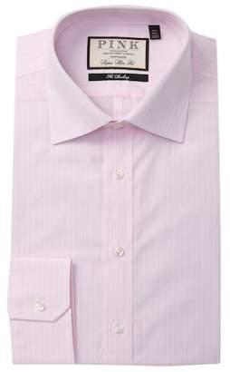 Thomas Pink Henrik Stripe Super Slim Fit Dress Shirt