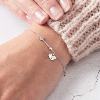 Claudette Worters Arrow Bracelet Personalised Diamond Bracelet