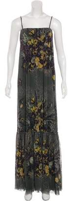 Jean Paul Gaultier Floral Maxi Dress