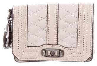 Rebecca Minkoff Love Quilted Leather Key Wallet