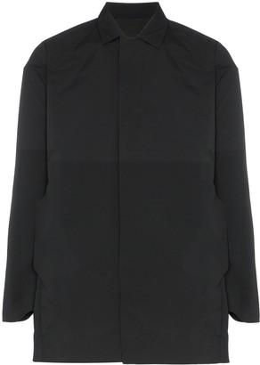Descente Allterrain concealed zip front coat