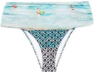 Patbo Beachy foldover bikini briefs