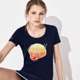 f327606b1 Lacoste Women's SPORT Miami Open Edition T-shirt