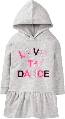 Crazy 8 Crazy8 Toddler Love To Dance Hooded Dress