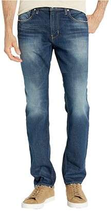 Hudson Jeans Blake Slim Straight Zip Fly in Turn Over