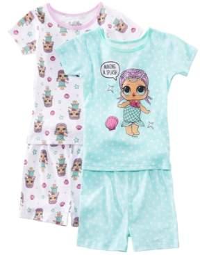 AME Little & Big 2-Pack Girls Lol Surprise Graphic Cotton Pajamas