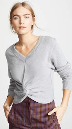 9788499d4e ASTR the Label Twist Front Sweater