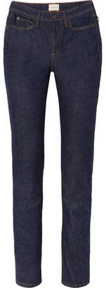 Simon Miller W009 Quinby High-rise Straight-leg Jeans - Dark denim