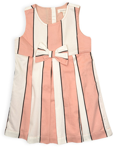 Pumpkin Patch Stripe Dress
