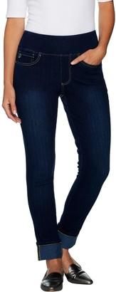 Belle By Kim Gravel Belle by Kim Gravel Flexibelle Regular Cuffed Ankle Jeans