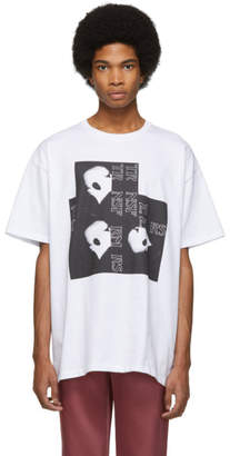 Raf Simons White Head T-Shirt