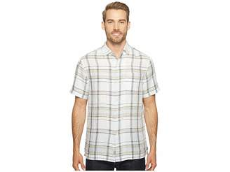 Tommy Bahama Plaid-O-Matic Camp Shirt Men's Clothing