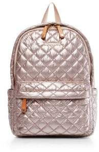 MZ Wallace Small Metro Quilted Nylon Backpack