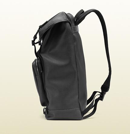 Gucci GG supreme canvas interlocking G backpack