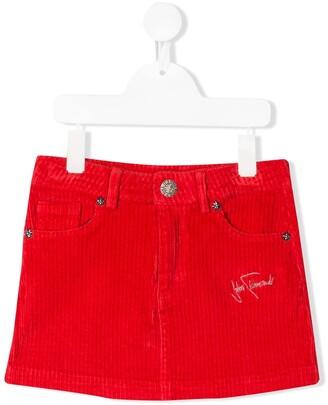 John Richmond Junior corduroy short skirt
