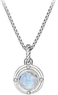 David Yurman Moonstone Diamond Pendant