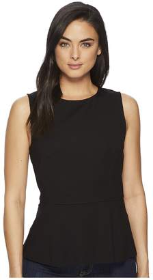 Three Dots Ponte Sleeveless Top Women's Sleeveless