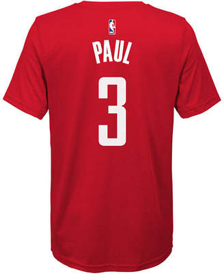 Nike Chris Paul Houston Rockets Icon Name & Number T-Shirt, Big Boys (8-20)