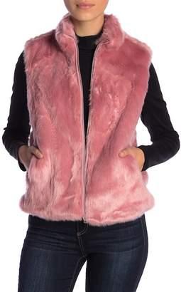 J.Crew J. Crew Faux Fur Vest (Petite)