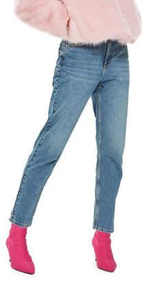 Topshop PETITE Mom Jeans 28-Inch Leg
