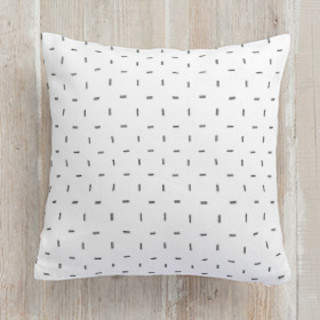 Modern Stitch Square Pillow