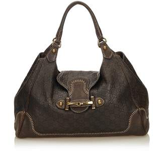 Gucci Vintage Guccissima Leather New Pelham Hobo Bag