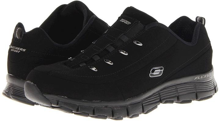 Skechers Flex Fit - Flashback (Black) - Footwear