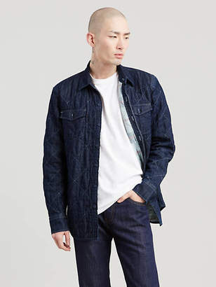 Levi's WellThread x Outerknown Padded Western Shirt Chambray