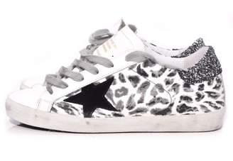 Golden Goose Superstar Sneaker in Black Leopard