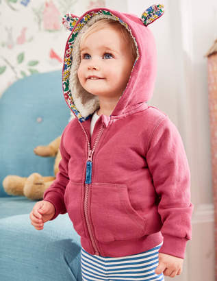 Boden Shaggy Lined Bunny-Hop Hoodie