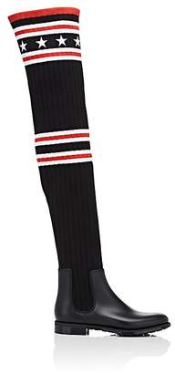 Givenchy Women's Storm Knit Over-The-Knee Boots