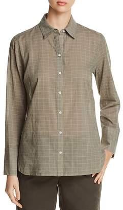 Kenneth Cole Grid-Print Shirt