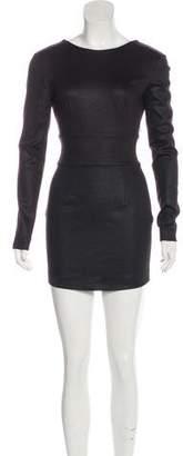 Pierre Balmain Textured Mini Dress
