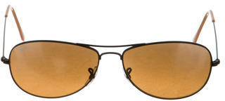 Ray-Ban Tinted Aviator Sunglasses $70 thestylecure.com