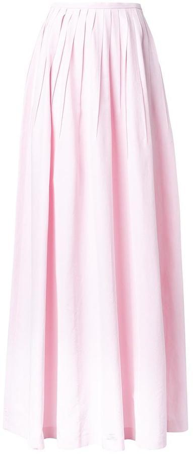 Michael Kors long pleated skirt