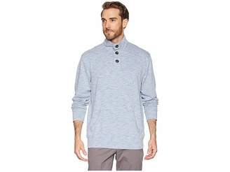 Mod-o-doc Mandalay 1/4 Button French Terry Pullover