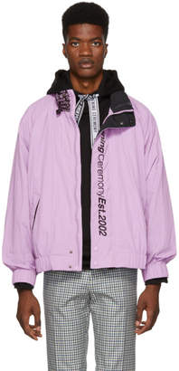 Opening Ceremony Purple Wind Jacket