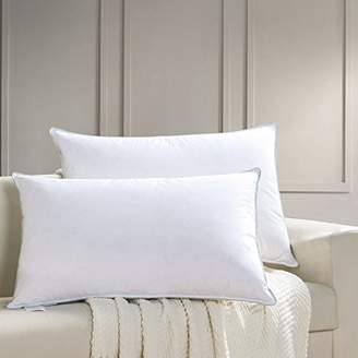 AIKOFUL Goose Down and Feather Bed Pillows for Sleeping