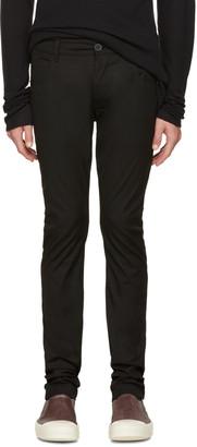 Rick Owens Black Detroit Trousers $535 thestylecure.com