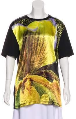 Givenchy Printed Short Sleeve Top