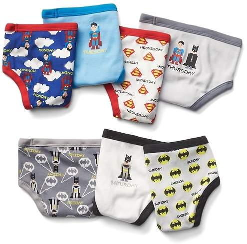 babyGap   DC Justice League days-of-the-week underwear (7-pack)