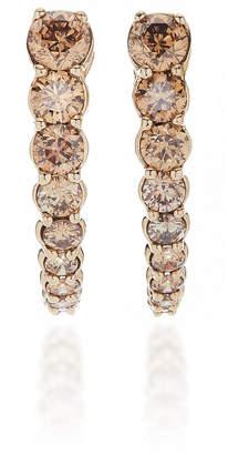 ara Vartanian 18K White Gold Diamond Earrings