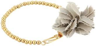 French Connection Beaded Line Pom Pom Bracelet Bracelet