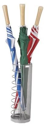 Mind Reader Wire Umbrella Holder, Metal Wire Umbrella Holder Basket, Entry Hallway Umbrella Holder, Home, Office Decor, Silver